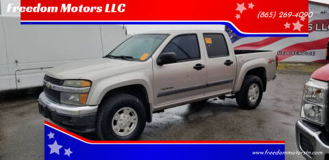 2004 Chevrolet Colorado for sale at Freedom Motors LLC in Knoxville TN