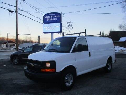 2017 Chevrolet Express Cargo for sale at Mill Street Motors in Worcester MA