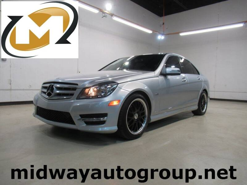 2012 Mercedes-Benz C-Class for sale at Midway Auto Group in Addison TX