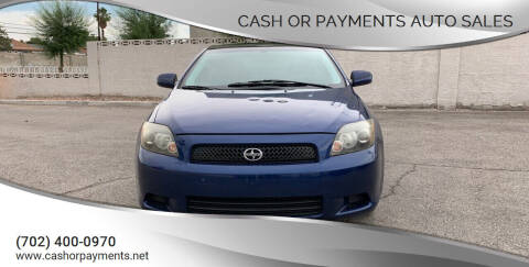 2009 Scion tC for sale at CASH OR PAYMENTS AUTO SALES in Las Vegas NV