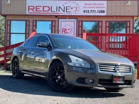 2012 Nissan Maxima for sale at REDLINE AUTO SALES LLC in Cedar Creek TX