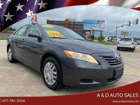 2007 Toyota Camry for sale at A & D Auto Sales in Joplin MO
