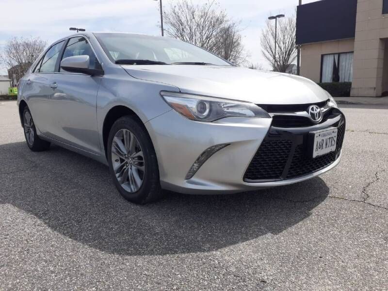 2017 Toyota Camry for sale at A&R MOTORS in Portsmouth VA