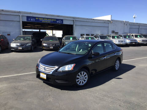 2013 Nissan Sentra for sale at My Three Sons Auto Sales in Sacramento CA