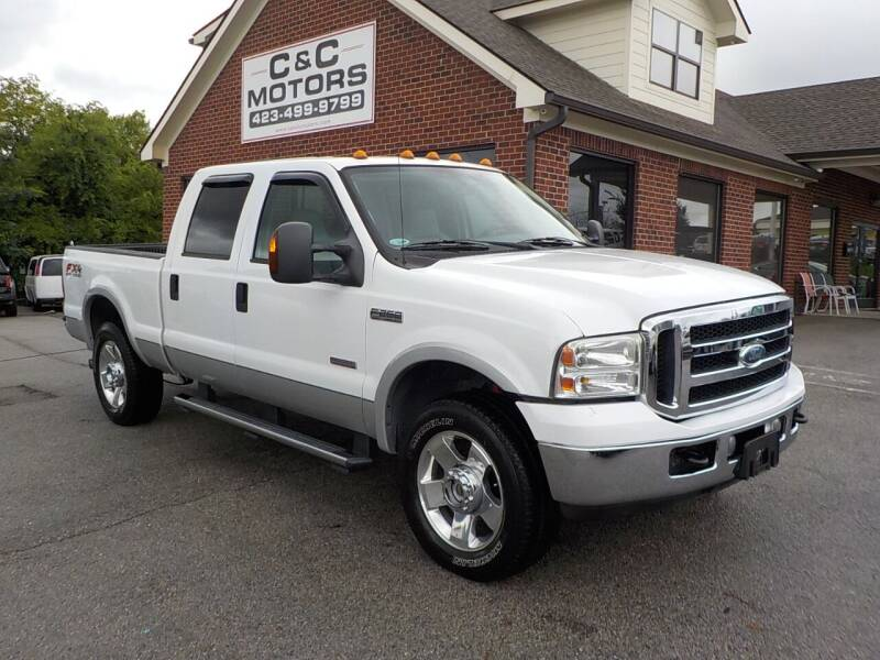 2006 Ford F-250 Super Duty for sale at C & C MOTORS in Chattanooga TN