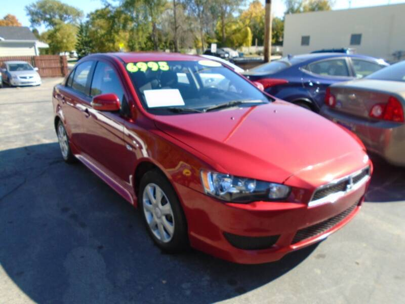 2015 Mitsubishi Lancer for sale at DISCOVER AUTO SALES in Racine WI