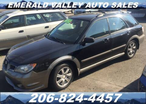 2006 Subaru Impreza for sale at Emerald Valley Auto Sales in Des Moines WA