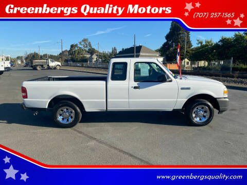 2011 Ford Ranger for sale at Greenbergs Quality Motors in Napa CA