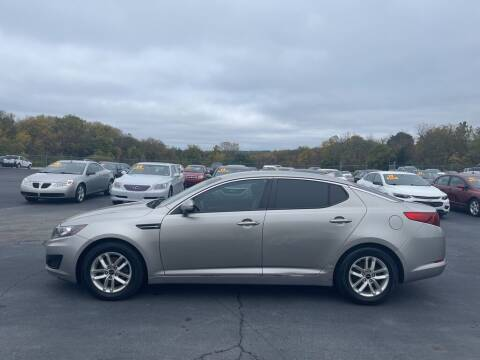 2011 Kia Optima for sale at CARS PLUS CREDIT in Independence MO