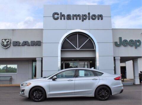 2019 Ford Fusion for sale at Champion Chevrolet in Athens AL