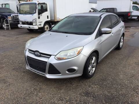 2013 Ford Focus for sale at BSA Used Cars in Pasadena TX