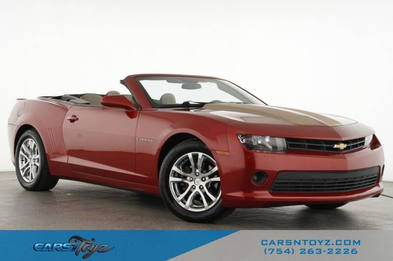 2015 Chevrolet Camaro for sale at JumboAutoGroup.com - Carsntoyz.com in Hollywood FL