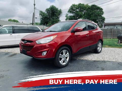 2013 Hyundai Tucson for sale at Marti Motors Inc in Madison IL