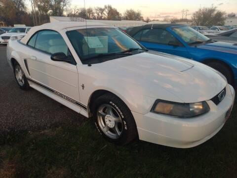 2003 Ford Mustang for sale at L & J Motors in Mandan ND