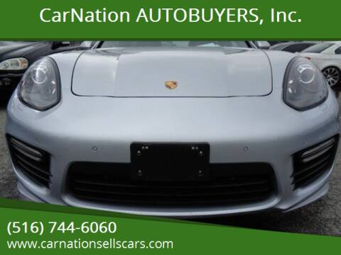 2016 Porsche Panamera for sale at CarNation AUTOBUYERS Inc. in Rockville Centre NY