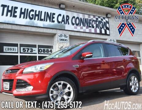 2014 Ford Escape for sale at The Highline Car Connection in Waterbury CT