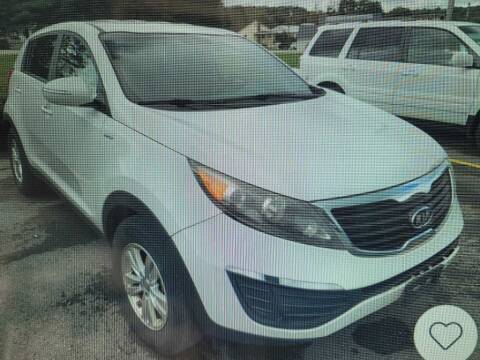 2011 Kia Sportage for sale at CRYSTAL MOTORS SALES in Rome NY