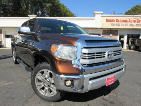 2014 Toyota Tundra for sale at North Georgia Auto Brokers in Snellville GA