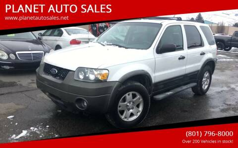 2006 Ford Escape for sale at PLANET AUTO SALES in Lindon UT