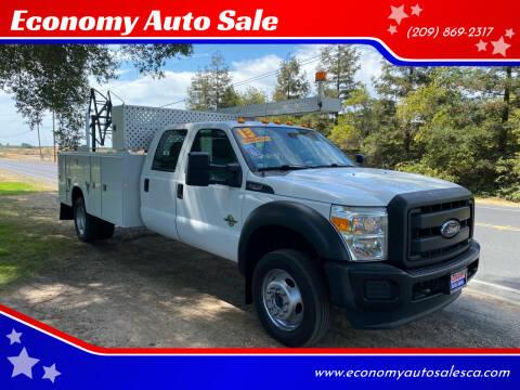 2013 Ford F-550 for sale at Economy Auto Sale in Modesto CA