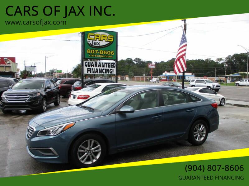 2016 Hyundai Sonata for sale at CARS OF JAX INC. in Jacksonville FL