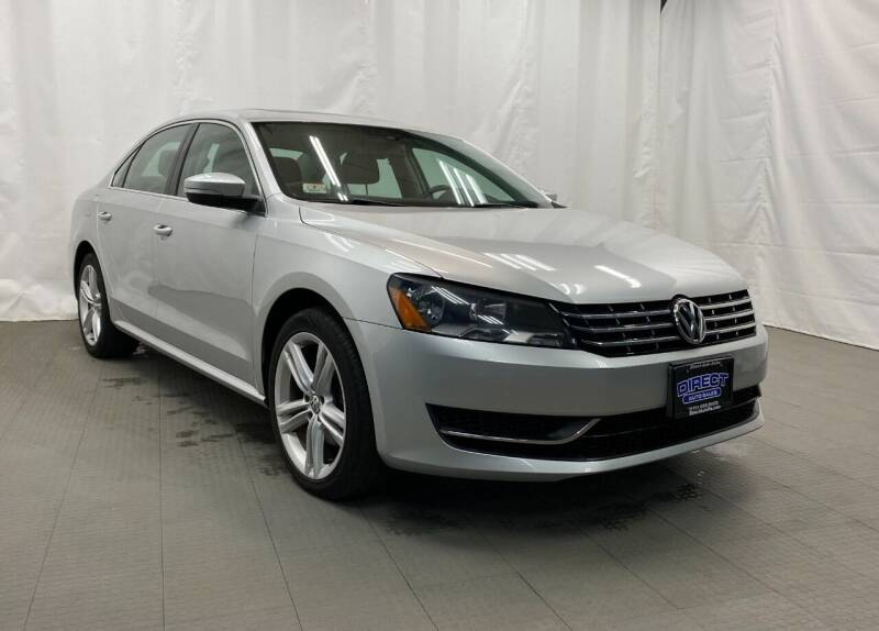 2014 Volkswagen Passat for sale at Direct Auto Sales in Philadelphia PA