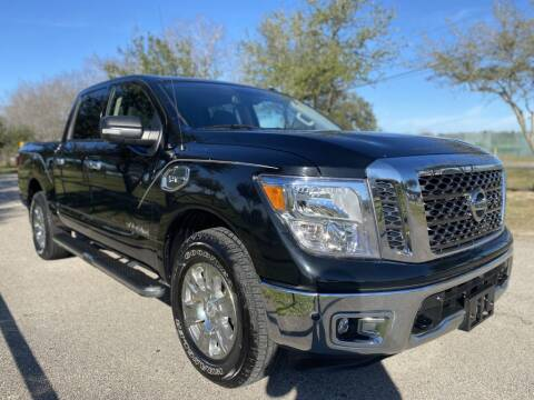 2017 Nissan Titan for sale at Prestige Motor Cars in Houston TX