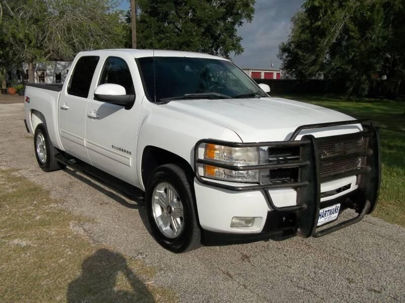 2009 Chevrolet Silverado 1500 for sale at Hartman's Auto Sales in Victoria TX