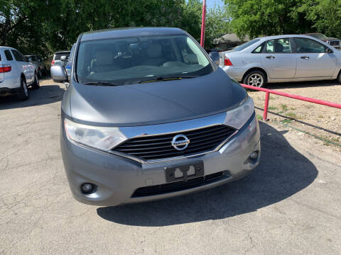 2014 Nissan Quest for sale at BULLSEYE MOTORS INC in New Braunfels TX