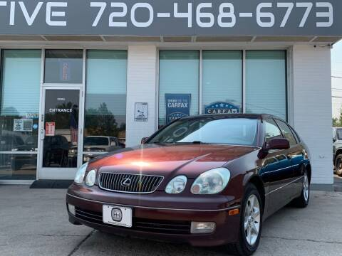 2002 Lexus GS 300 for sale at Shift Automotive in Denver CO