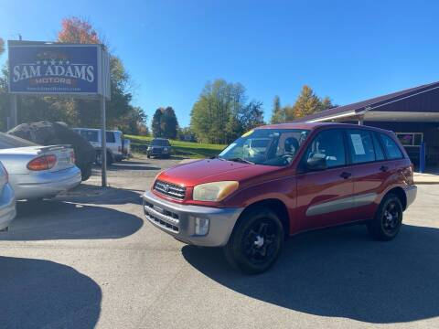 2002 Toyota RAV4 for sale at Sam Adams Motors in Cedar Springs MI