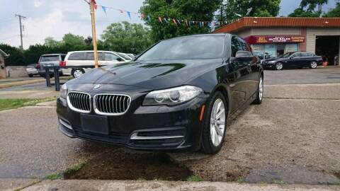 2014 BMW 5 Series for sale at Lamarina Auto Sales in Dearborn Heights MI