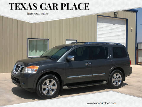 2012 Nissan Armada for sale at TEXAS CAR PLACE in Lubbock TX