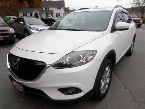 2014 Mazda CX-9 for sale at AUTO CONNECTION LLC in Springfield VT