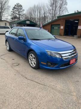 2011 Ford Fusion for sale at ELITE AUTOMOTIVE in Crandon WI