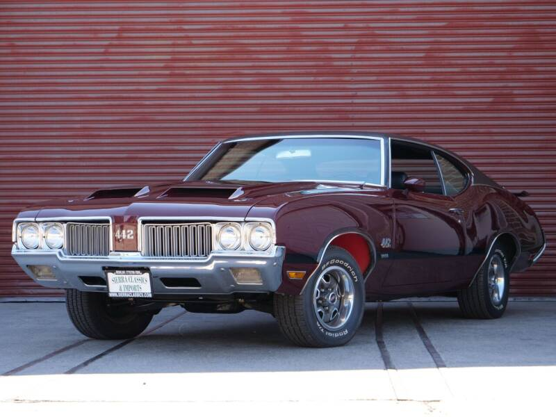 1970 Oldsmobile Cutlass for sale at Sierra Classics & Imports in Reno NV