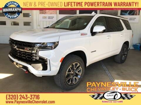 2021 Chevrolet Tahoe for sale at Paynesville Chevrolet Buick in Paynesville MN