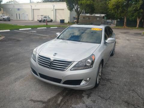 2016 Hyundai Equus for sale at Best Price Car Dealer in Hallandale Beach FL