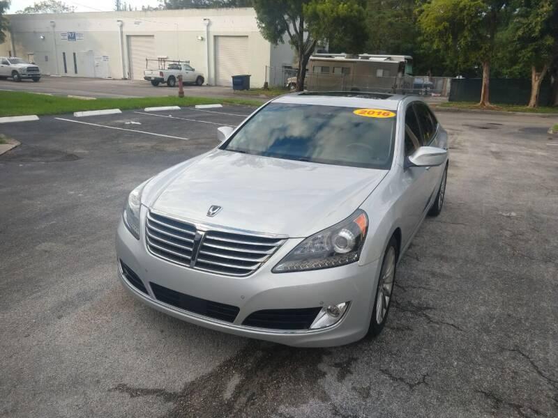 2016 Hyundai Equus for sale at Best Price Car Dealer in Hallandale Beach FL
