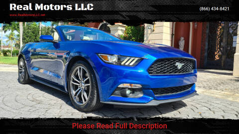 2017 Ford Mustang for sale at Real Motors LLC in Clearwater FL