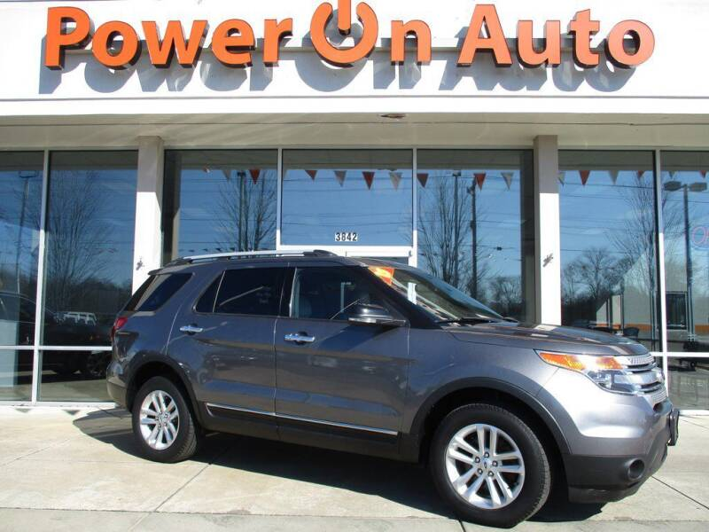2013 Ford Explorer for sale at Power On Auto LLC in Monroe NC