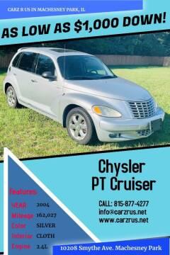 2004 Chrysler PT Cruiser for sale at Carz R Us in Machesney Park IL