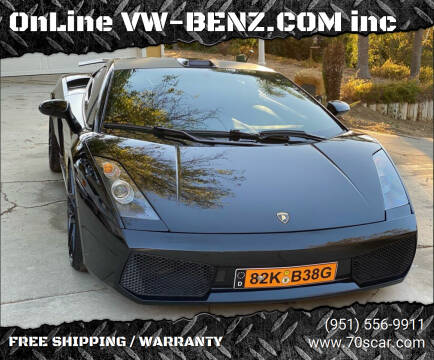 2004 Lamborghini Gallardo for sale at OnLine VW-BENZ.COM inc in Warehouse CA