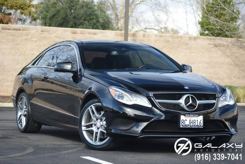 2014 Mercedes-Benz E-Class for sale at Galaxy Autosport in Sacramento CA