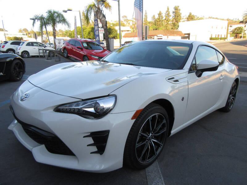 2017 Toyota 86 for sale at Eagle Auto in La Mesa CA