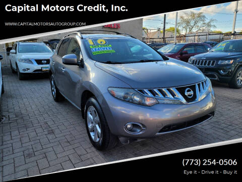 2010 Nissan Murano for sale at Capital Motors Credit, Inc. in Chicago IL