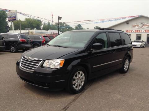 2010 Chrysler Town and Country for sale at Steves Auto Sales in Cambridge MN