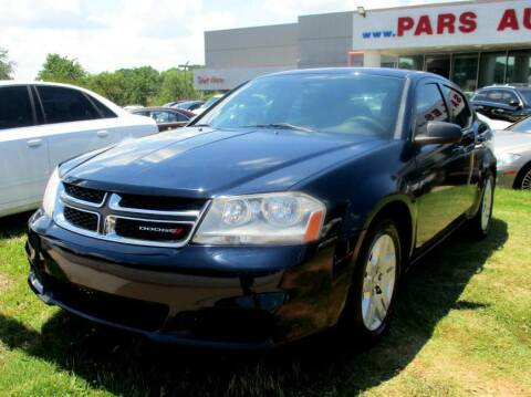 2014 Dodge Avenger for sale at Pars Auto Sales Inc in Stone Mountain GA