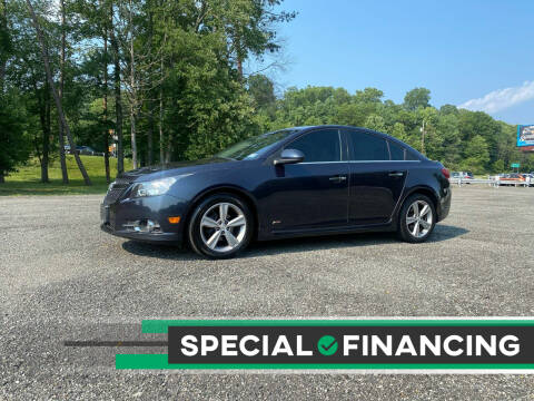2014 Chevrolet Cruze for sale at QUALITY AUTOS in Newfoundland NJ
