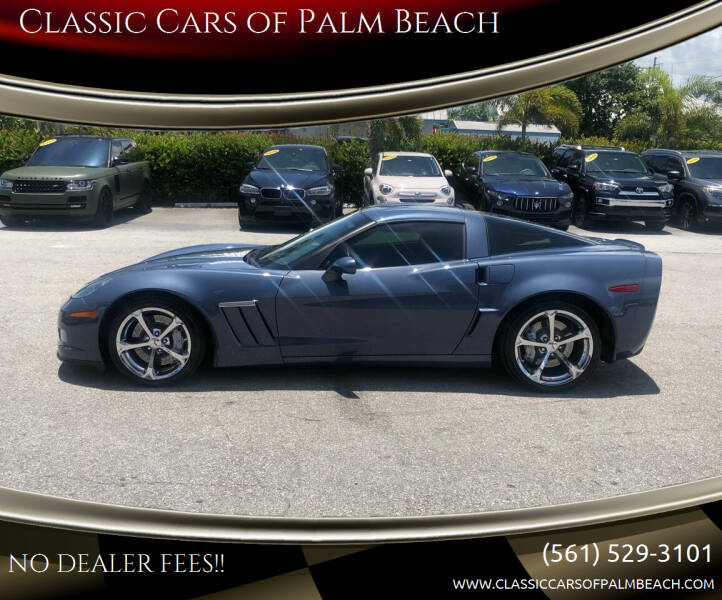 2012 Chevrolet Corvette for sale at Classic Cars of Palm Beach in Jupiter FL